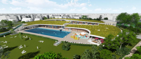 Rénovation de la piscine du Carrousel à Dijon